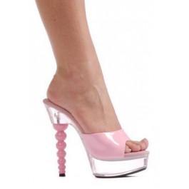 6 Inch Spherical Heel Mule Women'S Size Shoe