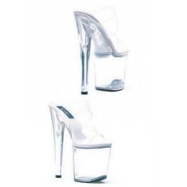 8 Inch Heel Sandal Women'S Size Shoe