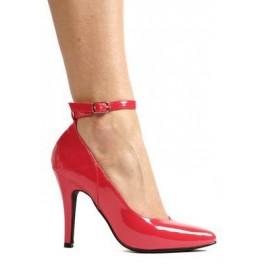 4 Inch Heel B Width Pump Women'S Size Shoe With Ankle Strap