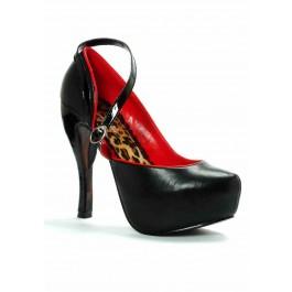 Women's 5 Inch Heel Close Toe Pump