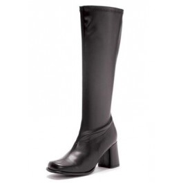 3 Inch Gogo Boots Women'S Size Shoe With Zipper