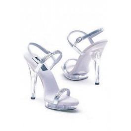 5 Inch Heel Rhinestone Sandal Women'S Size Shoe