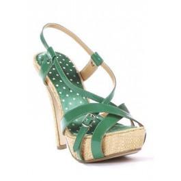 5 Inch Natural Raffia Heel And Platform Sandal Women'S Size Shoe With 1 Inch Platform