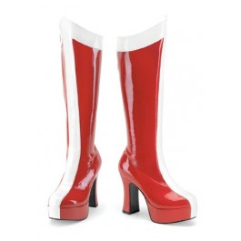 4 Inch Heroine Knee High Stretch Boots