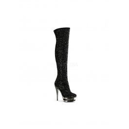 6 Inch Stiletto Heel, 1 1/2 Inch Dual Platform