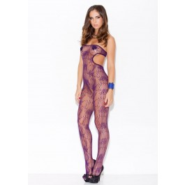 Cut Out Open-Crotch Bodystocking