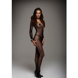 Panty Silhouette Open-Crotch Bodystocking