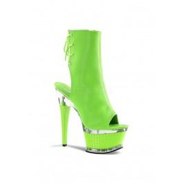 6 1/2 Inch Textured Heel, 2 1/2 Inch Textured Platform Boot
