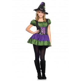 Juniors Hocus Pocus Witch Costume