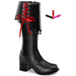 Children's 1 3/4 Inch Heel Knee Boot