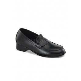 Children's 1 Inch Heel Slip On Loafer