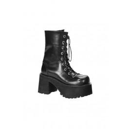 3 1/2 Inch Platform Calf Boot