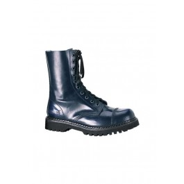 Men's/Unisex 10 Eyelet Steel Toe Calf Boots