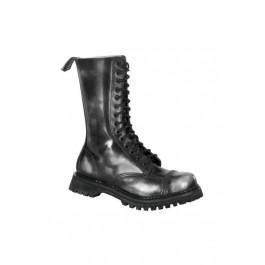 Men's/Unisex 14 Eyelet Steel Toe Calf Boots