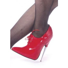 6 Inch Spike Steel Heel Pump With Laces