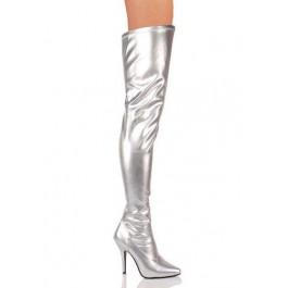 5 Inch Plain Stretch Thigh Boot