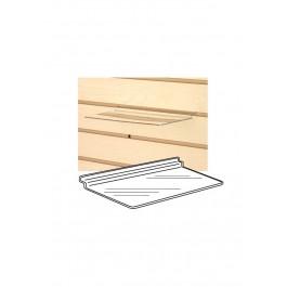 Clear Acrylic Slatwall Shelf Shoe Shelves