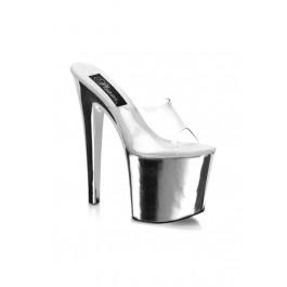 Pleaser TABOO-701, 7 1/2 Inch Stiletto Heel Platform Slide