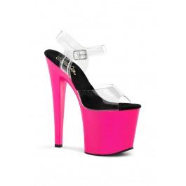 Women's 7 1/2 Inch Heel, 3 1/2 Inch Pf Slide