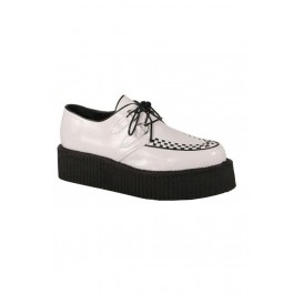 Mens 2 Inch Platform Basic Veggie Creeper Shoe