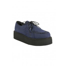 Men'S 2 Inch Platform Imitation Suede Vegetarian Creeper Shoe