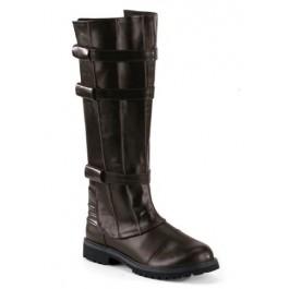 Men'S Knee High Buckled Superhero Boot