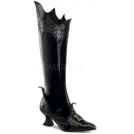 Women's 2 1/2 Inch Heel, Pointy Toe Knee Boot