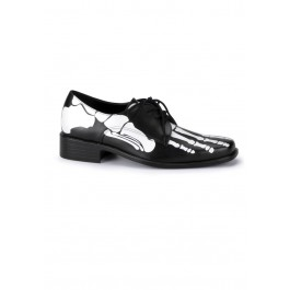Skull Footprint Loafer Men'S Size Shoe