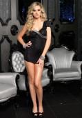 One Shoulder Glam Mini Dress