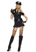 Sexy Dirty Cop Costume Dress