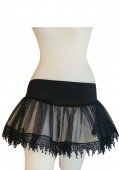 Mini Petticoat With Teardrop Lace