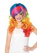 Rainbow Rocker Multi-Color Wig