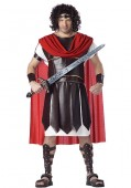 Mens Hercules Plus Size Greek Toga Holiday Party Costume
