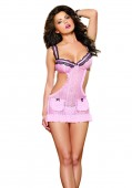 Apron Babydoll And Panty