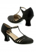 Women's 2 1/2 Inch Heel Satin Dance Shoe