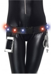 2 Piece LED Light Up Utility Belt