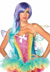 Rainbow Sequin Corset