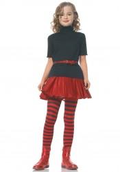 Girls Stripe Cute Tights Hosiery
