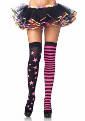 Stars And Stripes Rave Thigh Highs