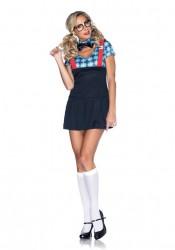 Naughty Nerd School Girl Costume