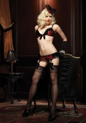 3 Pc. Burlesque Temptress Set