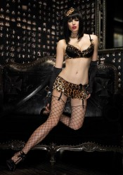 2 Pc. Burlesque Sinful Set