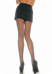 Sheer Pantyhose With Backseam