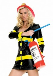 Inflatable Fire Extinguisher Costume