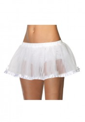 Petticoat With Satin Trim