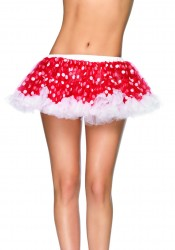 Mini Petticoat With Polka Dots