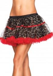 Leopard Print Tulle Petticoat