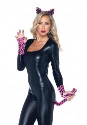 Neon Pink Leopard Kit Costume