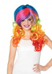 Rainbow Rocker Multi-Color Wig