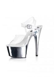 6 1/2 Inch Heel Sandal Women'S Size Shoe
